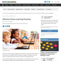 10 Recommendations to Improve Online Learning by Lisa Nielson
