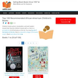 Top 150 Recommended African-American Children's Books
