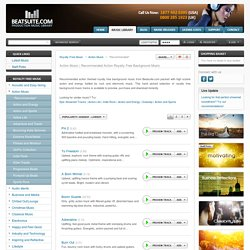 Recommended Action Royalty Free Background Music Downloads