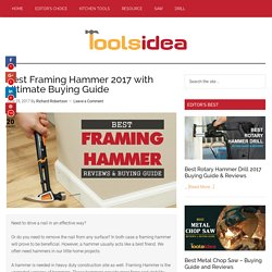 [Recommended] Best Framing Hammer 2017