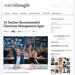 14 Teacher-Recommended Classroom Management Apps