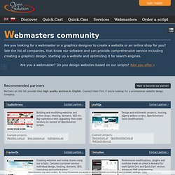 Recommended website designers