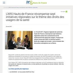 L'ARS Hauts-de-France récompense sept initiatives régionales sur le thème des droits des usagers de la santé