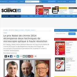 Nobel de chimie 2014 : microscopie optique à haute résolution