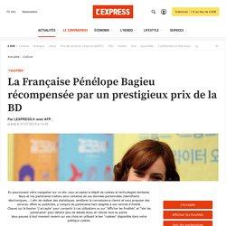 La Française Pénélope Bagieu récompensée par un prestigieux prix de la BD...