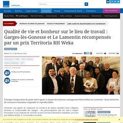 Qualité de vie et bonheur sur le lieu de travail : Garges-lès-Gonesse et Le Lamentin récompensés par un prix Territoria RH Weka - Actualité fonction publique territoriale