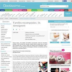 Familles recomposées: témoignages