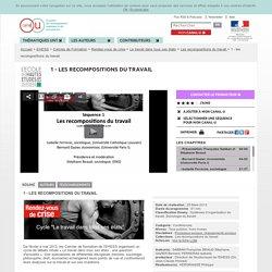Les recompositions du travail - EHESS - Bernard Gazier