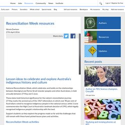 Reconciliation Week resources