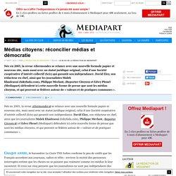Médias citoyens: réconcilier médias et démocratie