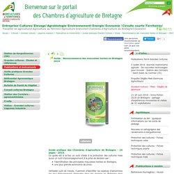 Guide - Reconnaissance des mauvaises herbes en Bretagne – 2010 - Chambres d'Agriculture de Bretagne
