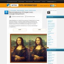 Reconnaissance d'images avec Google DeepDream