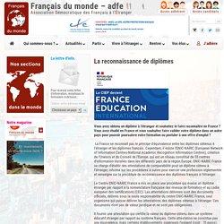 Français du monde - adfe - Association Démocratique des Français à l'Etranger