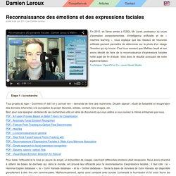 Reconnaissance des émotions et des expressions faciales