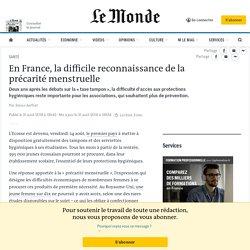 En France, la difficile reconnaissance de la précarité menstruelle