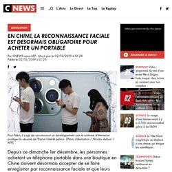 En Chine, la reconnaissance faciale est désormais obligatoire pour acheter un portable