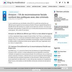 Amazon : l'IA de reconnaissance faciale confond des politiques avec des criminels