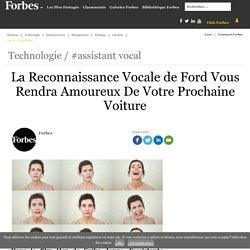La Reconnaissance Vocale de Ford Vous Rendra Amoureux De Votre Prochaine Voiture