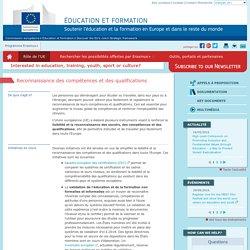 Reconnaissance des compétences et des qualifications - Commission européenne