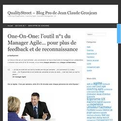 One-On-One: l'outil n°1 du Manager Agile... pour plus de feedback et de reconnaissance