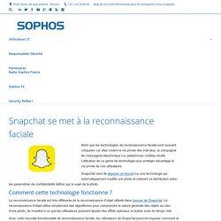 Reconnaissance faciale chez Snapchat