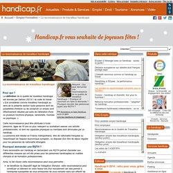 La reconnaissance de travailleur handicapé - Emploi Formation (2404)
