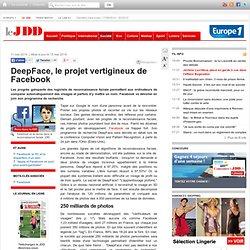 Reconnaissance faciale : DeepFace, le projet vertigineux de Facebook