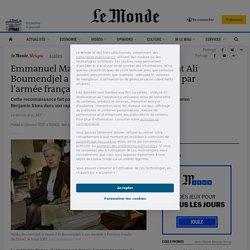 Emmanuel Macron reconnaît que l'avocat Ali Boumendjel a été «torturé et assassiné» par l'armée française en Algérie