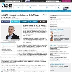 La SNCF reconnait que la hausse de la TVA va impacter ses prix - L'Echo Touristique
