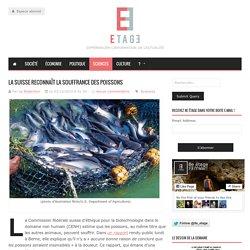 La Suisse reconnaît la souffrance des poissons