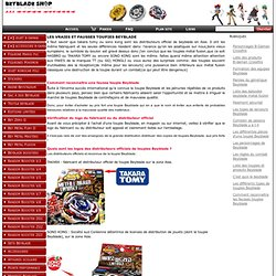 Comment reconnaitre les fausses toupies Beyblade www.beyblade.kingeshop.com