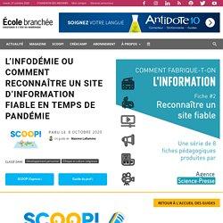 L'infodémie ou comment reconnaître un site d'information fiable en temps de pandémie