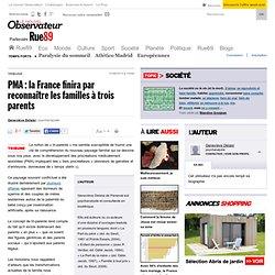 PMA: la France finira par reconnaître les familles à trois parents