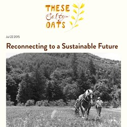 These Salty Oats - Reconnecting to a Sustainable Future