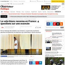Le vote blanc reconnu en France : 4 questions sur une avancée