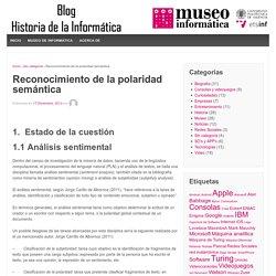 Reconocimiento de la polaridad semántica – Historia de la Informática