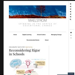 Reconsidering Rigor in Schools — The Synapse