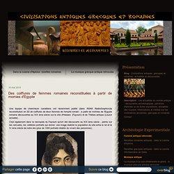 Des coiffures de femmes romaines reconstituées à partir de momies d'Egypte