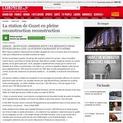 Guzet en pleine reconstruction Histoire de cèpes! - 19/05/2004