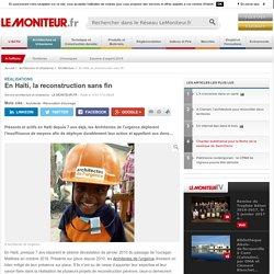 En Haïti, la reconstruction sans fin - Réalisations