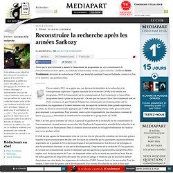 Reconstruire la recherche après les années Sarkozy