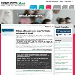 Reconversion professionnelle : DEMSE niveau 1 - Formation Entreprise - Espace Sentein