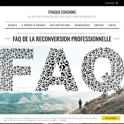 FAQ de la reconversion professionnelle