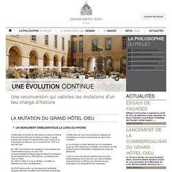 Projet de reconversion Hôtel-Dieu Lyon, transformation Hotel Dieu Lyon, Eiffage construction, Eiffage immobilier
