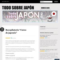 """Recopilatorio """"Curso de japonés"""""""