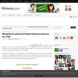 Recopilatorio grafomotricidad ideal para alumnos con TGD