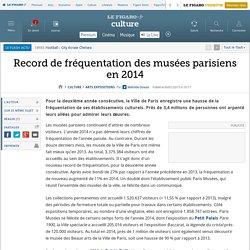 Record de fréquentation des musées parisiens en 2014