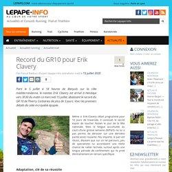Record du GR10 pour Erik Clavery