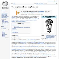 The Elephant 6 Recording Company