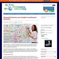 20 powerful business uses of graphic recording and facilitation